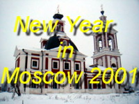 Come and join us celebrating New Year 2000-2001 near the Kremlin Gardens, and visit the Historical Museum and Tretyakov Art Gallery
