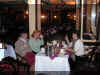 David and Valentina Probert, and Tatiana Moiseenko - Arbatskaya Restaurant - Jan 2001