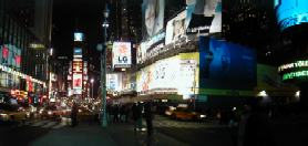 Times Square, New York - Evening Time
