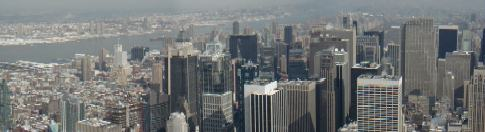 View from Empire State Building - Towards the Hudson River