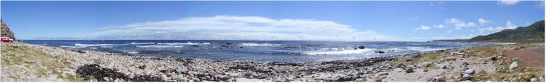 Cape Point Beach - Looking towards the Atlantic Ocean (Cape of Good Hope Peninsula Park)