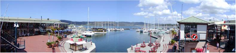 The Knysna Marina and Shopping Centre