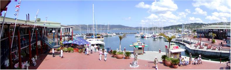 Knysna Marina Shopping Centre and Harbour