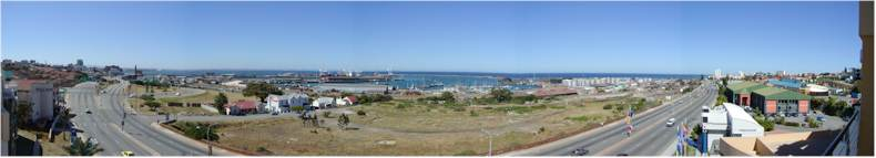 View from the balcony of the Paxton Hotel - Port Elizabeth