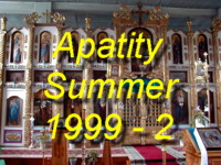 Come and see the wild arctic scenery and forests around Apatity and Kirovsk during Summer 1999