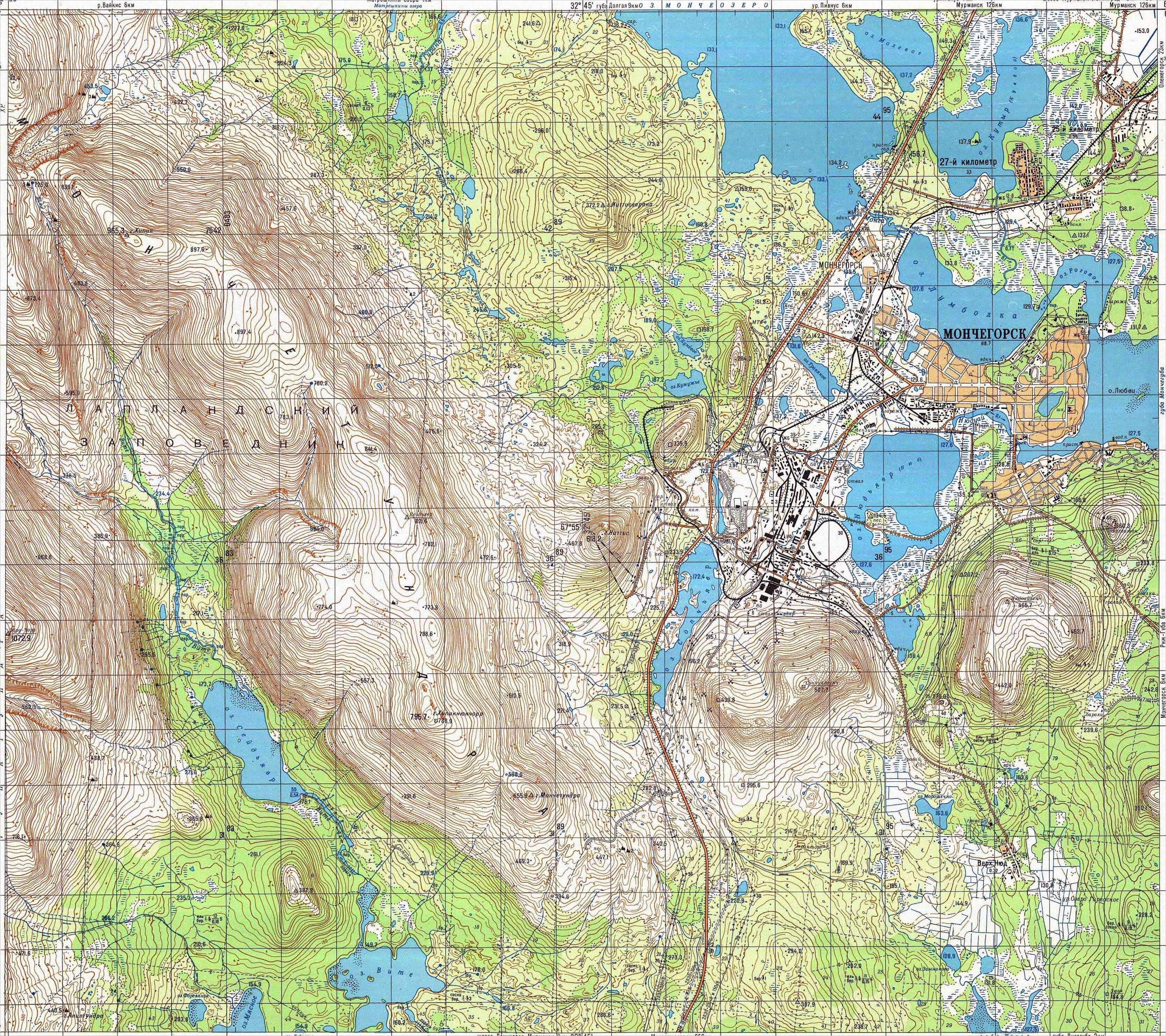 Warriors Path State Park Map: Interactive Map Of The Kola Lapland Nature Reserve (3