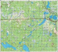 Map 2 - ѕротоки - Protoki - Click to enlarge this map to Full Size - File size is typically around 4Mbytes so please be patient!