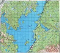 Map 6 - »мандра - Imandra  - Click to enlarge this map to Full Size - File size is typically around 4Mbytes so please be patient!