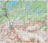 Map 9 - –евда - Revda - Click to enlarge this map to Full Size - File size is typically around 4Mbytes so please be patient!