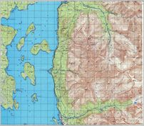 Map 11 - 'ибины - Khibiny -  - Click to enlarge this map to Full Size - File size is typically around 4Mbytes so please be patient!