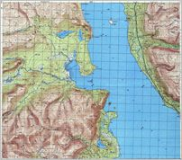 Map 13 - г. Ќьоркпахк - Umbozero - Click to enlarge this map to Full Size - File size is typically around 4Mbytes so please be patient!
