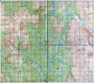 Map 22 - г. Намлагчорр - Namlagchorr Village - Click to enlarge this map to Full Size - Note that typical maps are around 4MBytes so please be patient!