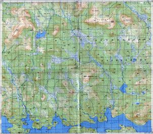 Map 24 - Аввагуба - Avvaguba - Click to enlarge this map to Full Size - Note that typical maps are around 4MBytes so please be patient!